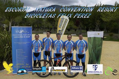 Equipo de ciclocross Escorial Natura