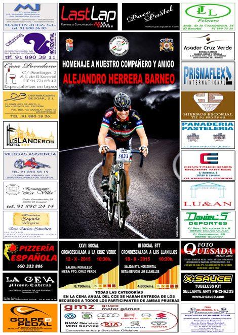 Carreras sociales 2015 del Club Ciclista Escurialense