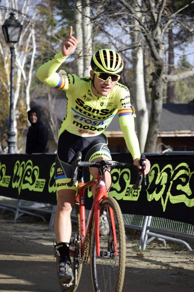 Rubén Sánchez, ganador junior