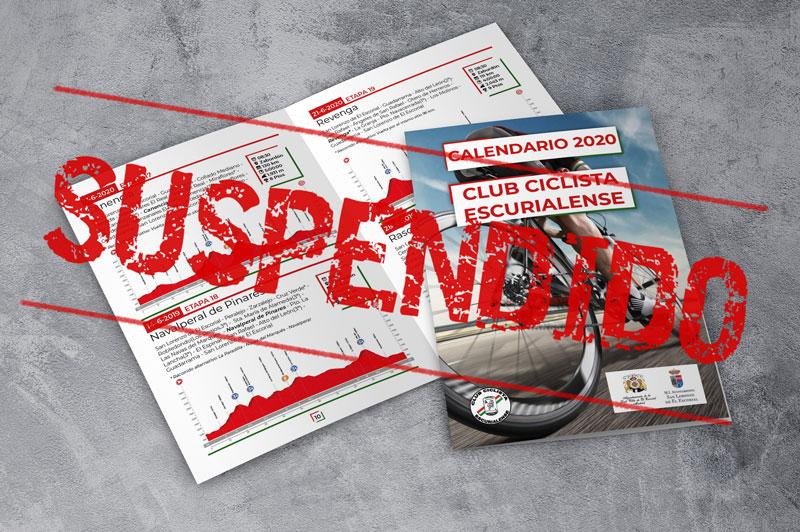 Se suspenden la actividades del club debido al COVID19