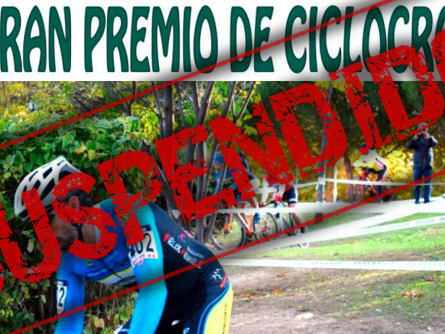 Gran Preimo de Ciclocross de El Escorial ha sido suspendido